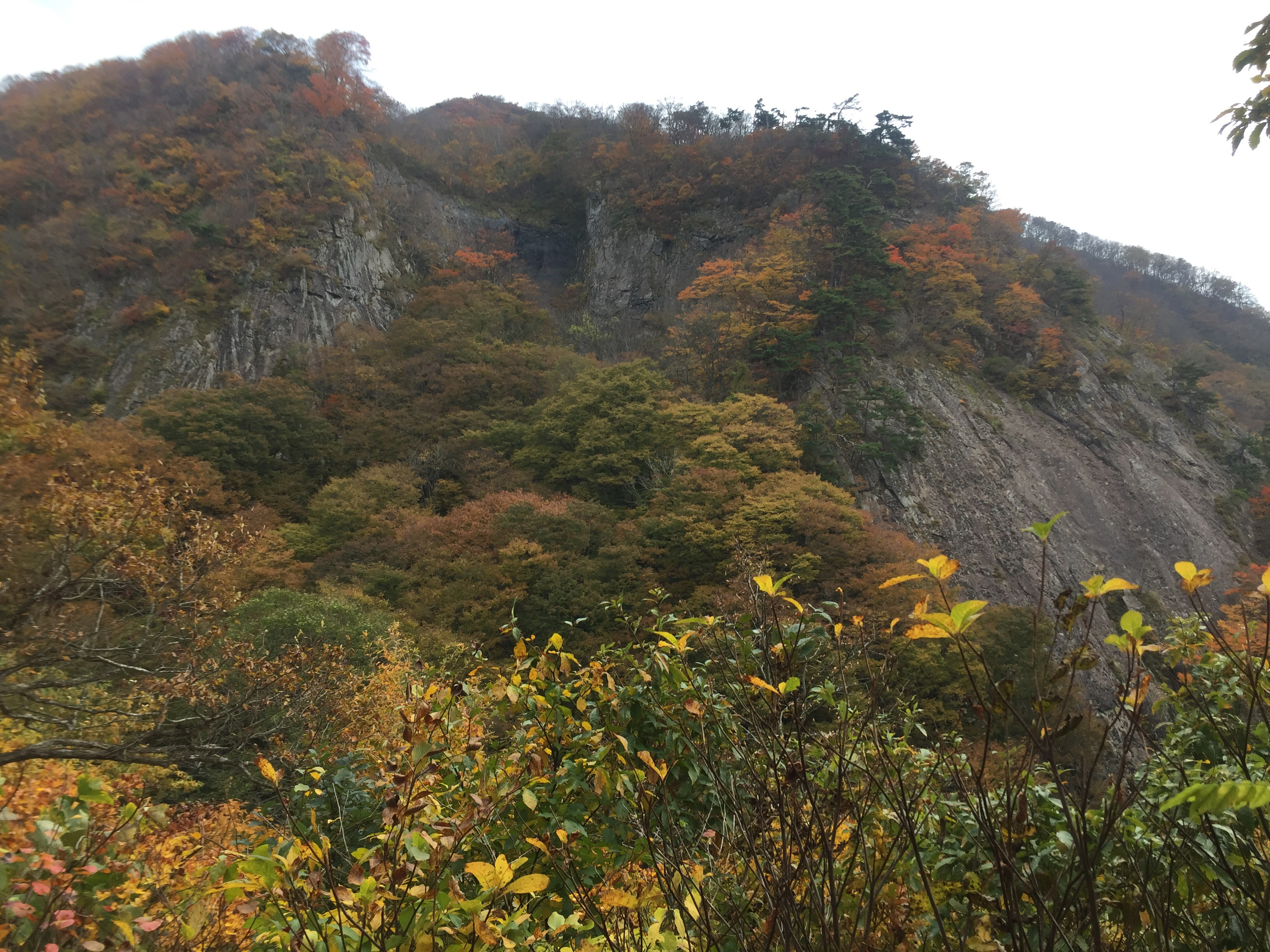二ツ森 山形百名山 のぼり滝
