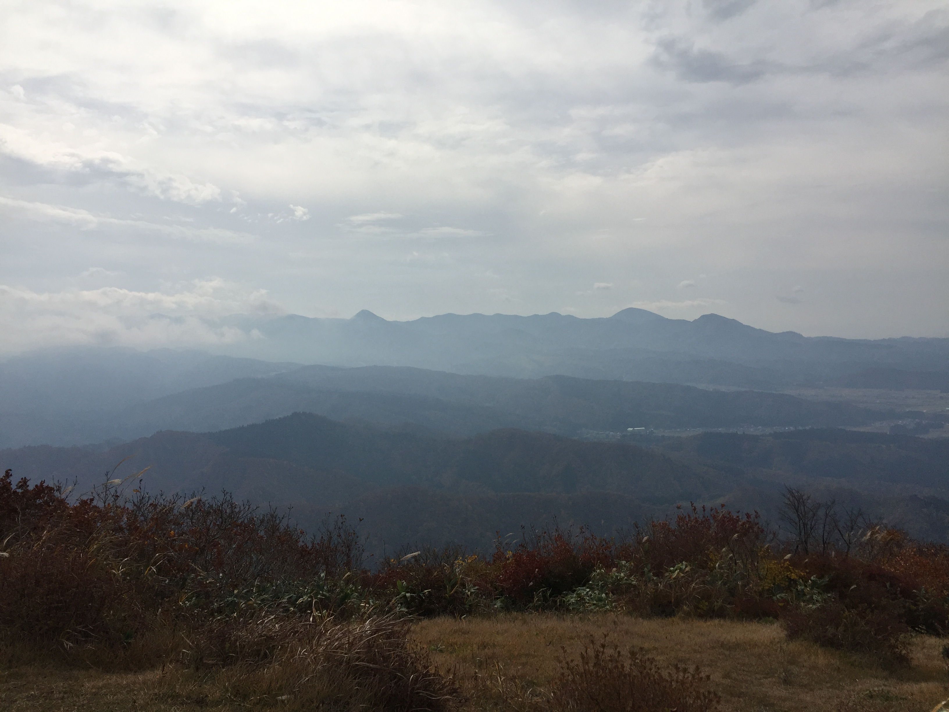 二ツ森 山形百名山 山頂 展望