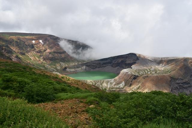 蔵王山 御釜