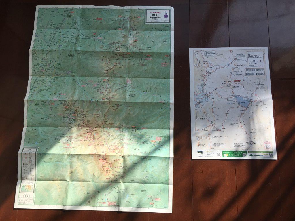 山と高原地図 ヤマタイムマップ