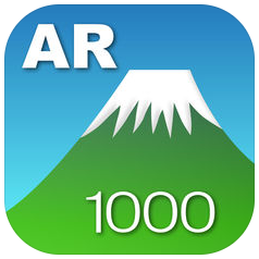 AR山1000 アプリ