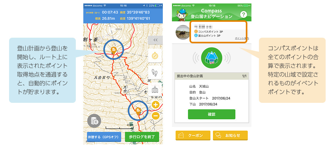 Compass コンパス