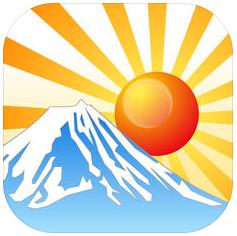 日の出日の入マピオン アプリ