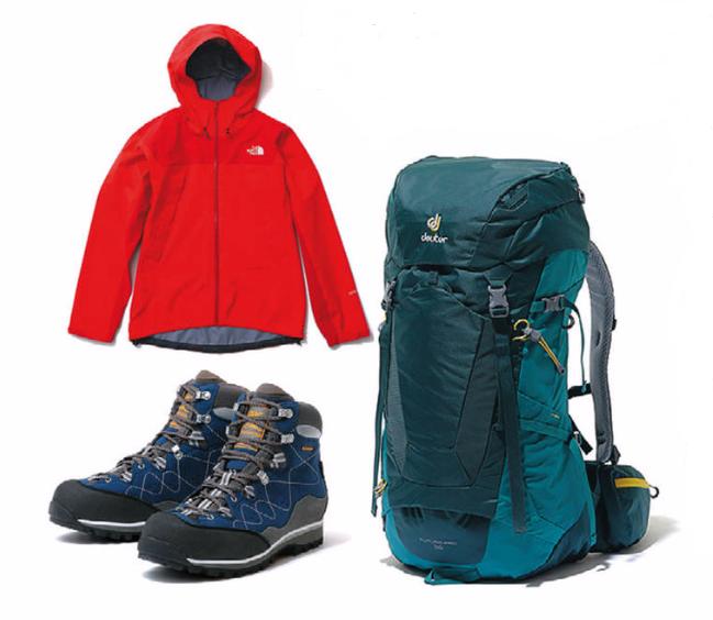 初めての山登りで最初にそろえるべき登山道具3点!まずは三種の神器からスタート!
