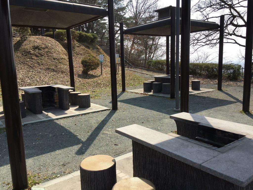 舞鶴山 天童公園 バーベキュー
