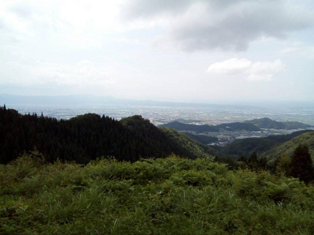 雨呼山 山形百名山 眺望コース 展望台