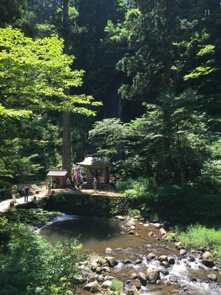 羽黒山 祓川 須賀の滝
