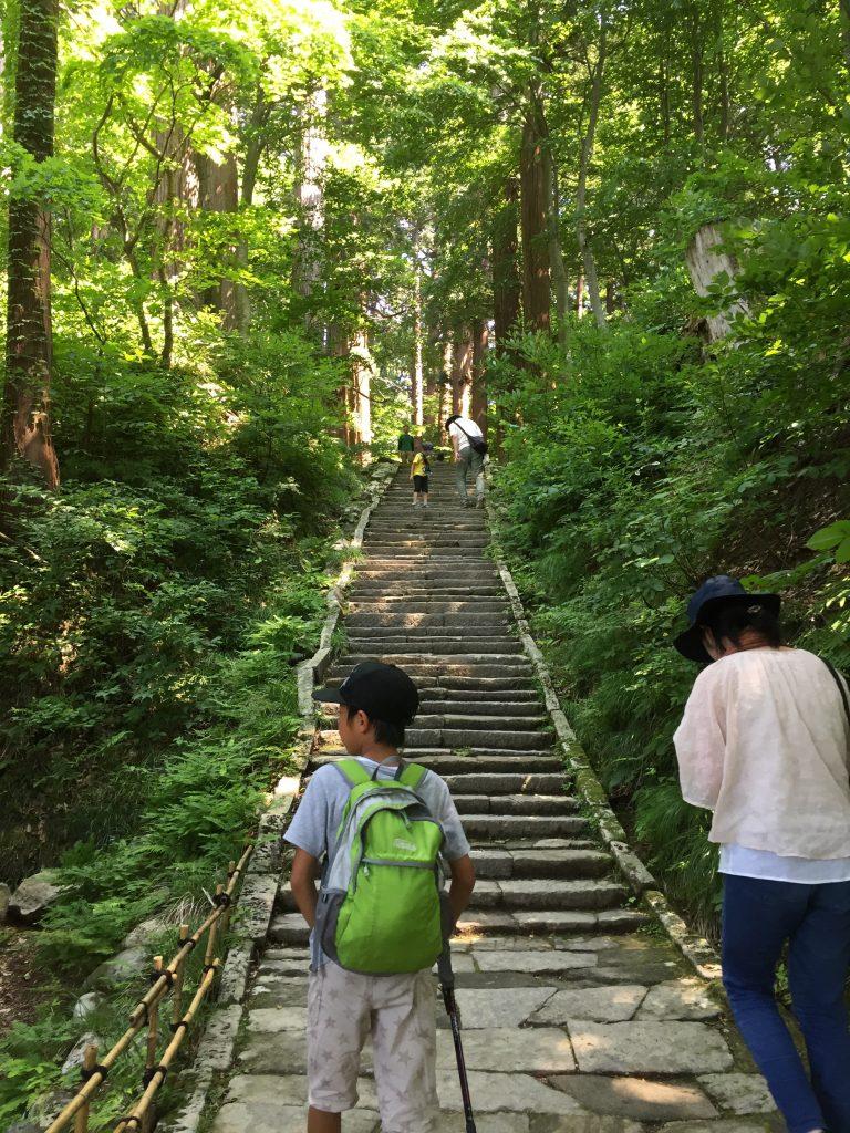 羽黒山 登山道 三の坂