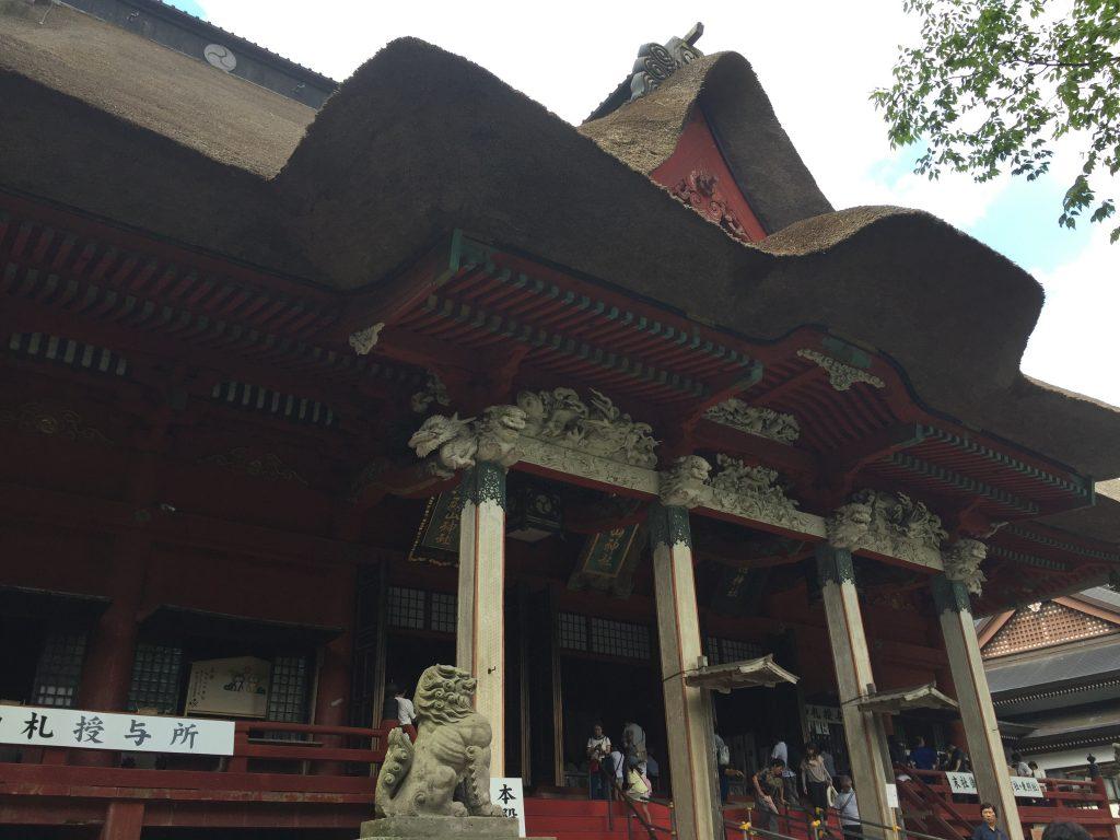 羽黒山 山頂 重要文化財 三神合祭殿