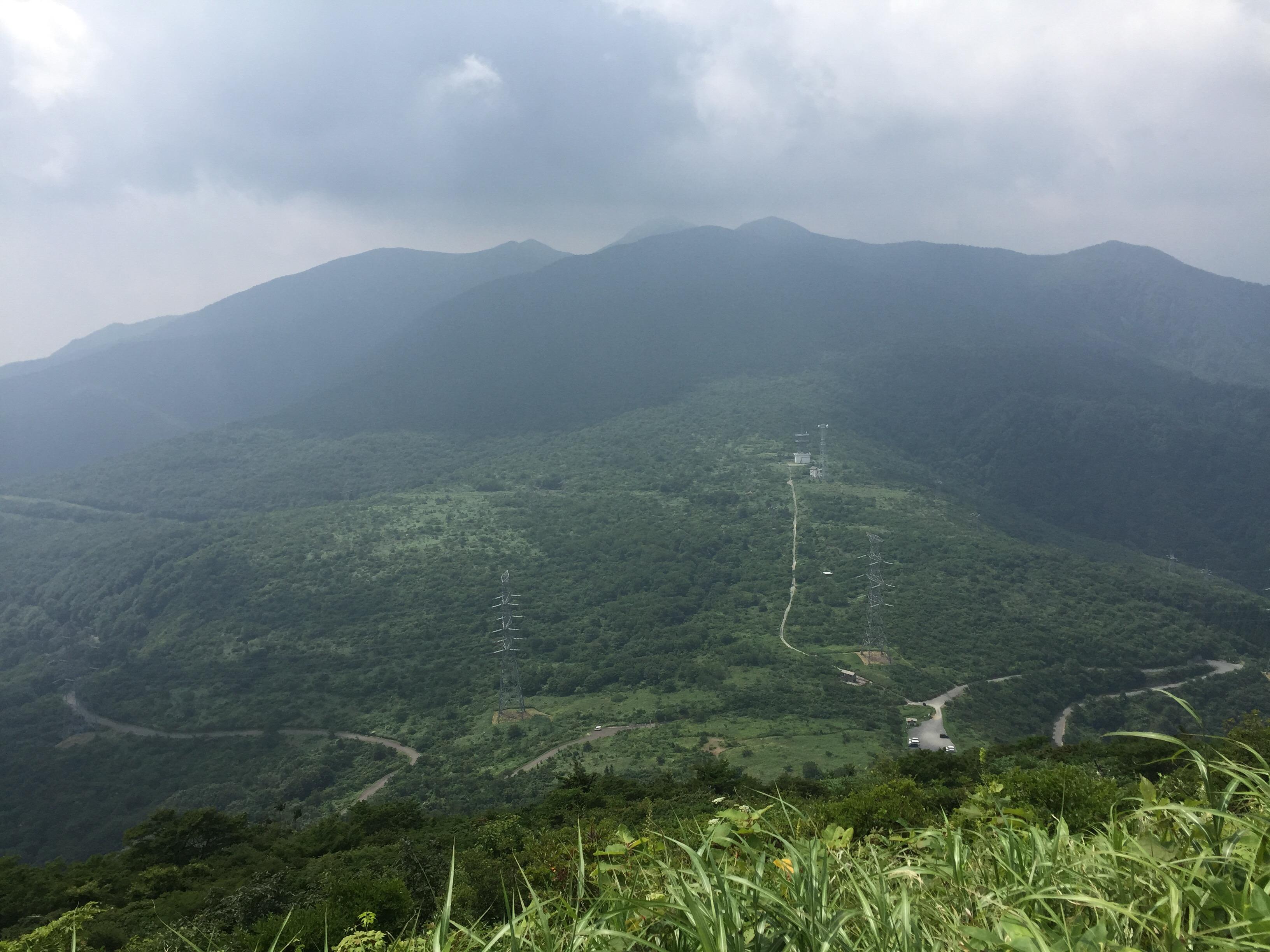 山形神室岳 山形百名山 大関山