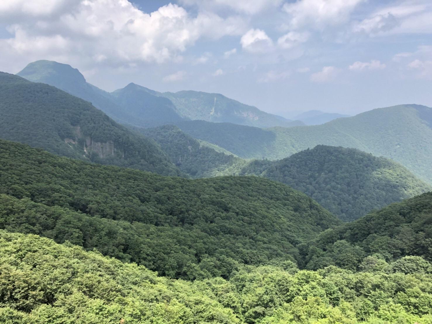 山形神室岳 山形百名山 ハマグリ山