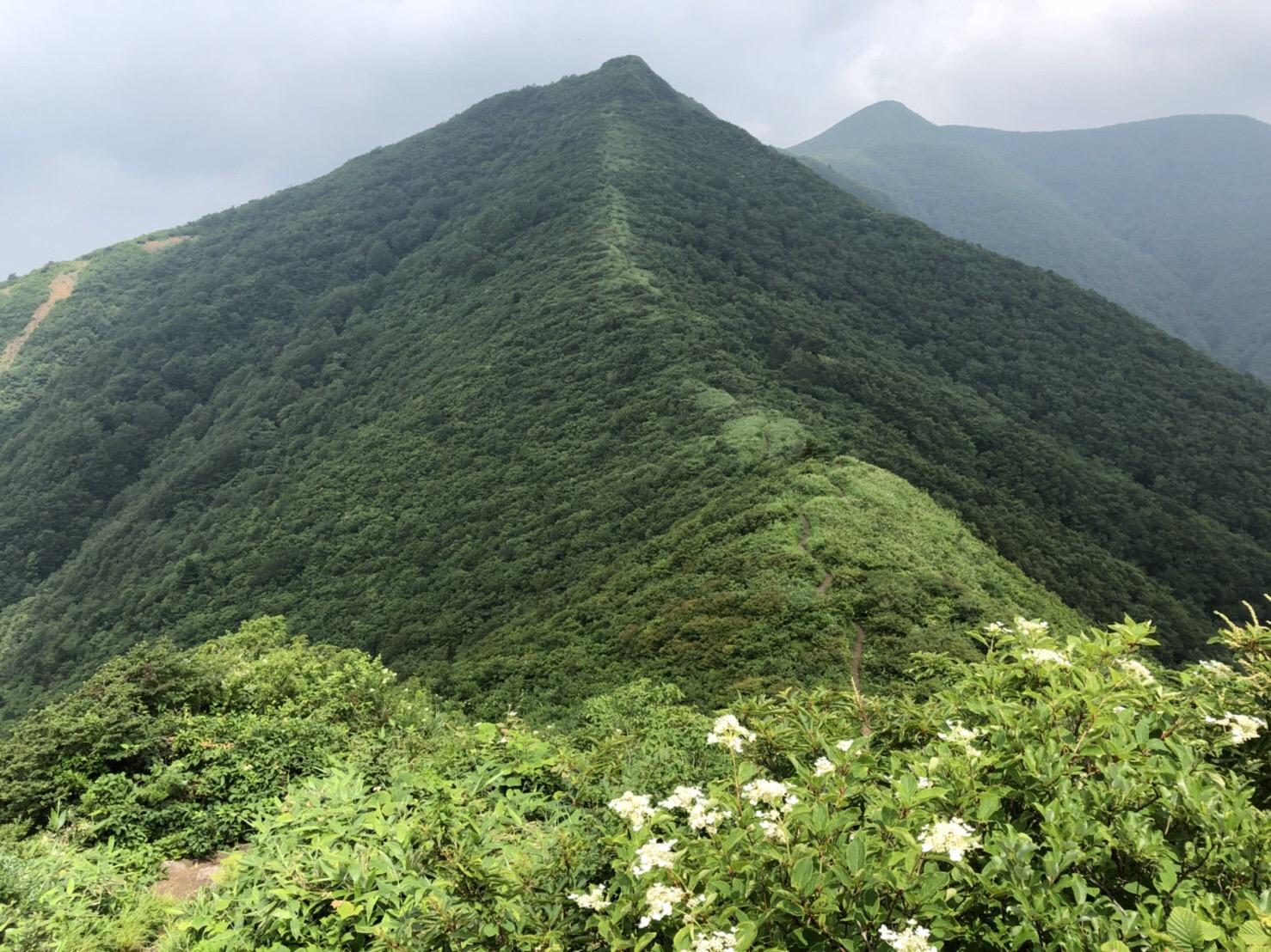 山形神室岳 山形百名山
