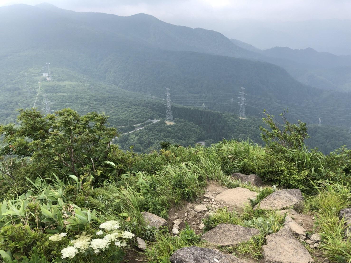 山形神室岳 山形百名山 大関山 山頂