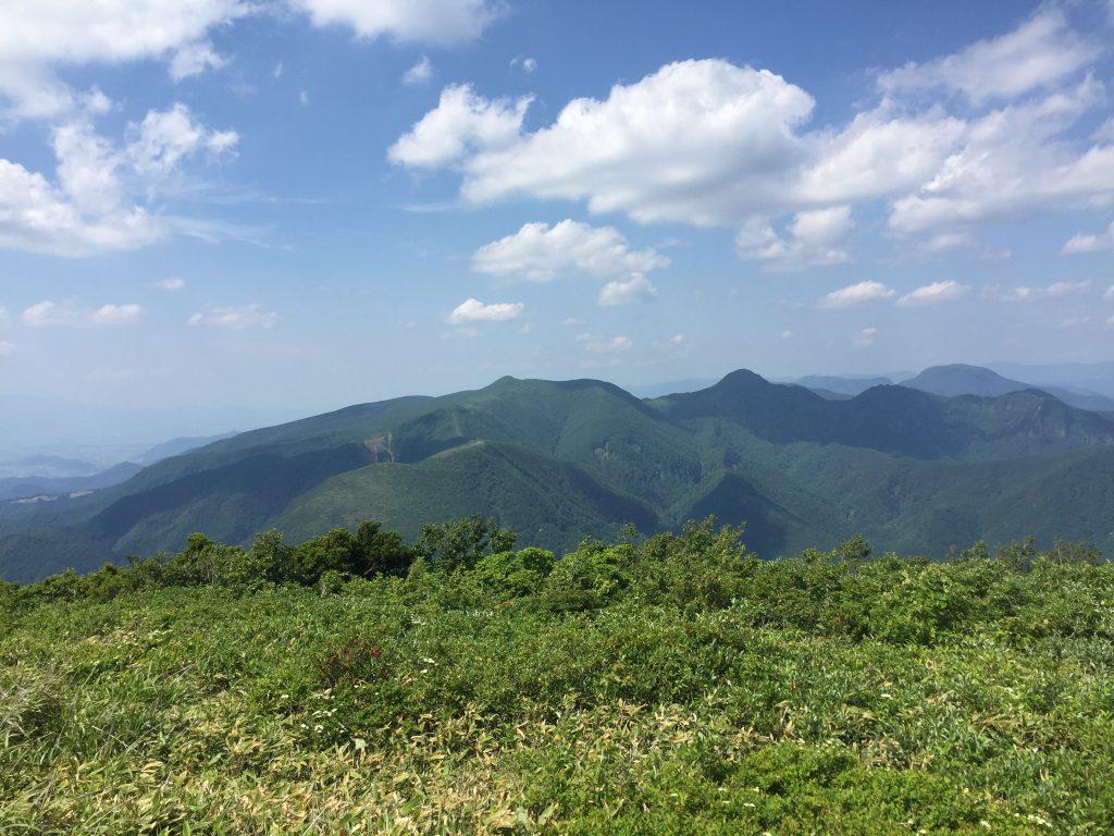 雁戸山 山形百名山 カケスヶ峰