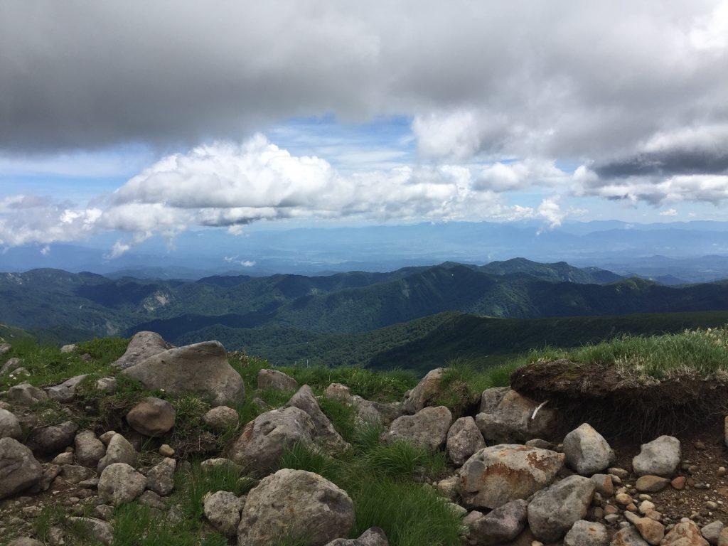 月山 日本百名山 山形百名山 登山道