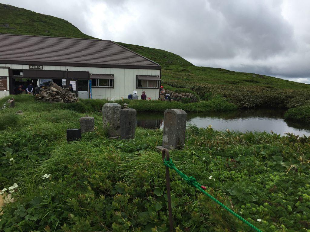 月山 日本百名山 山形百名山 仏生池小屋