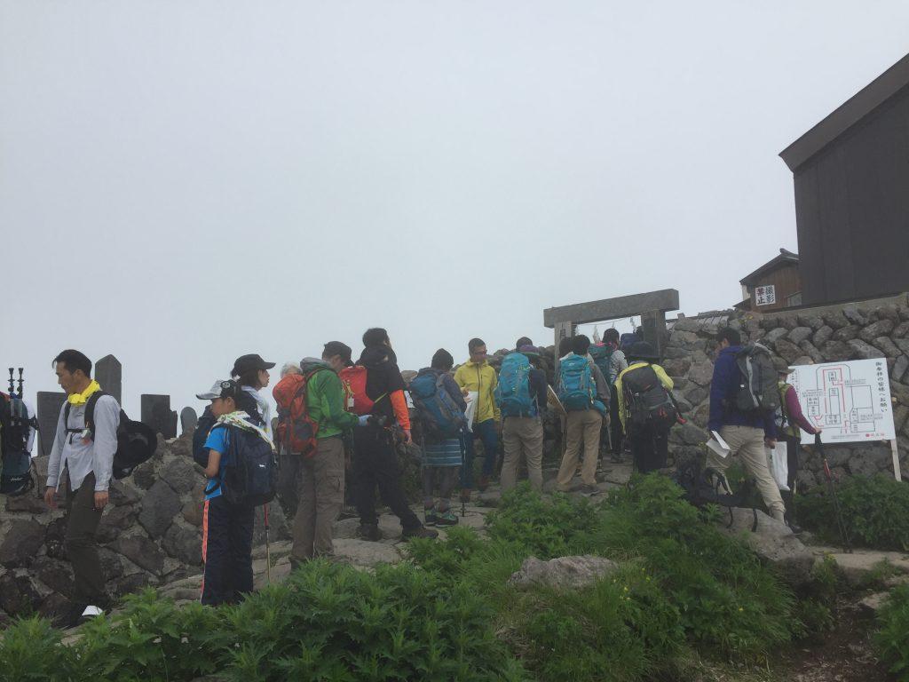 月山 日本百名山 山形百名山 山頂 月山神社