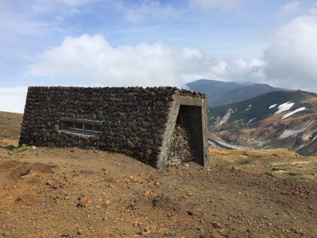 避難小屋 蔵王山