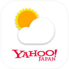 Yahoo!天気 スマホアプリ 雷レーダー