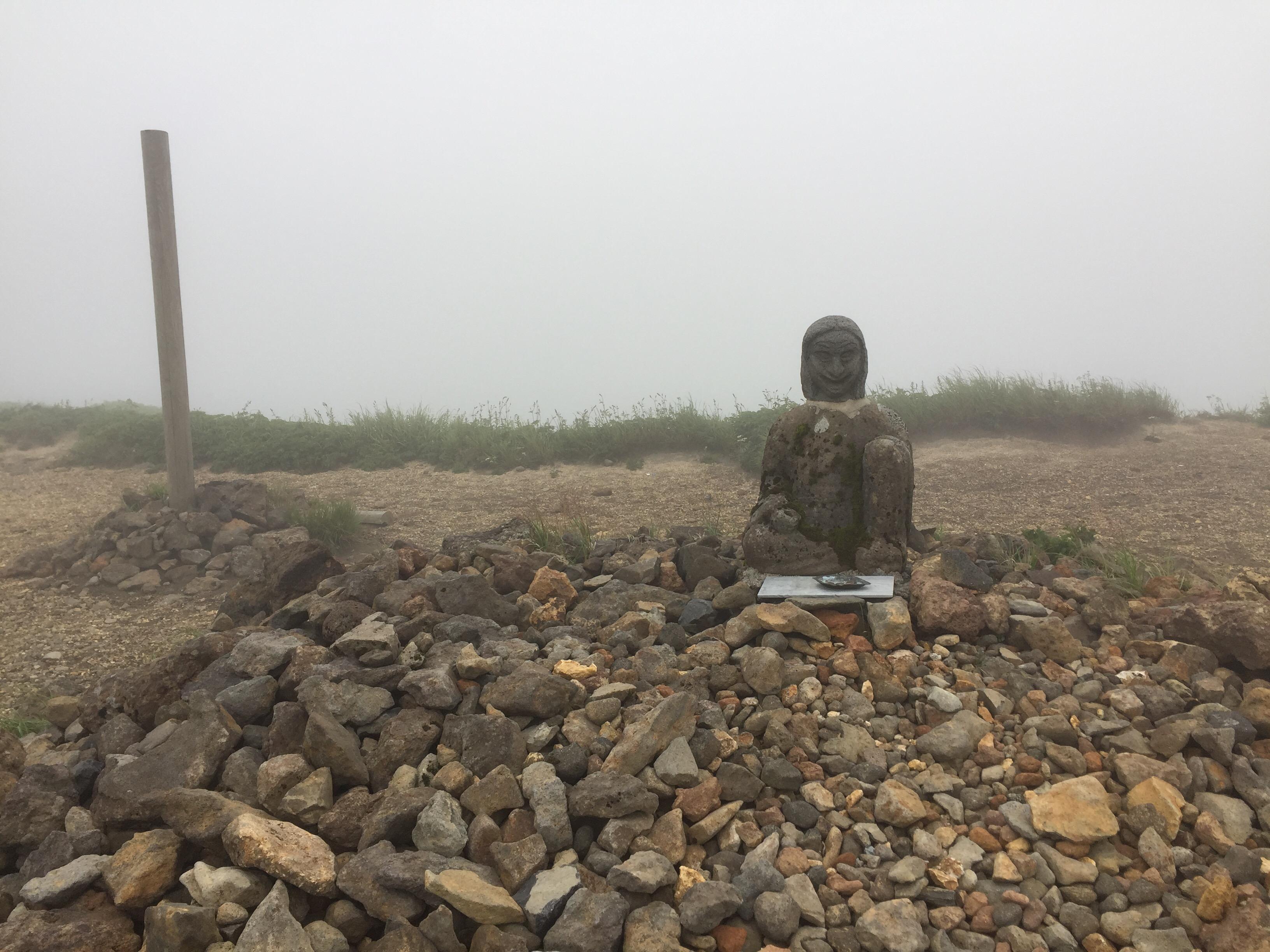 蔵王 熊野岳 日本百名山 山形百名山 ワサ小屋跡 姥神様