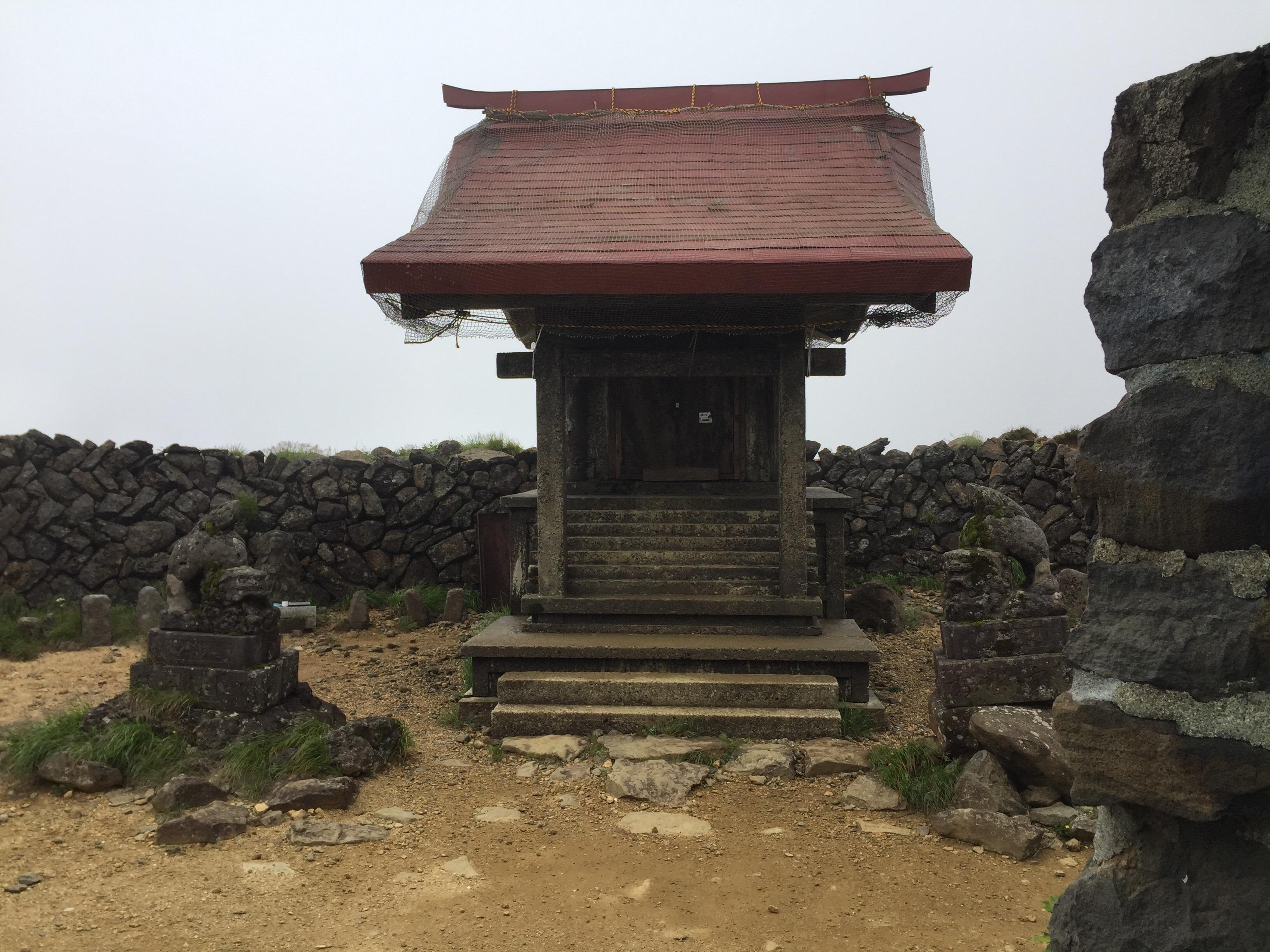 蔵王 熊野岳 日本百名山 山形百名山 熊野神社