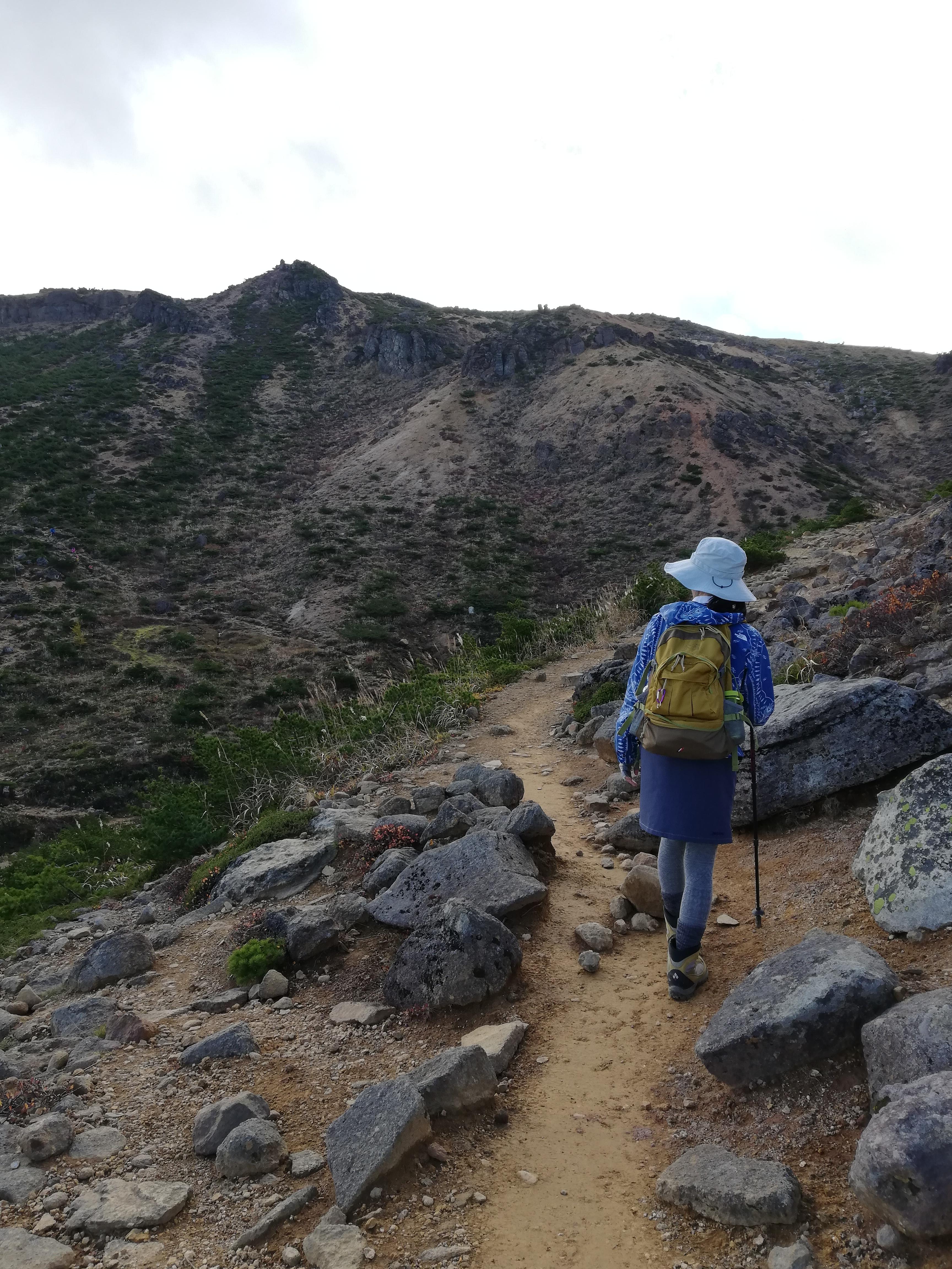 安達太良山 登山道