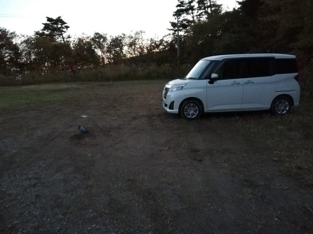 安達太良山 駐車場