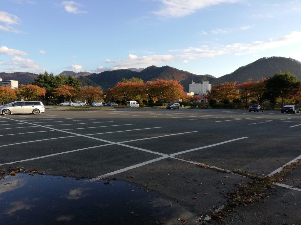 盃山 山形百名山 登山口 駐車場