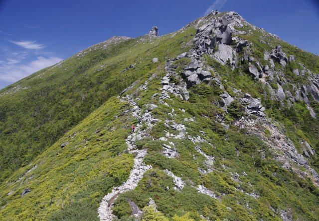 金峰山 日本百名山 稜線 尾根