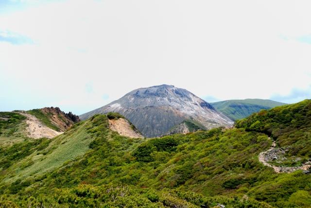 那須岳 日本百名山 稜線 尾根