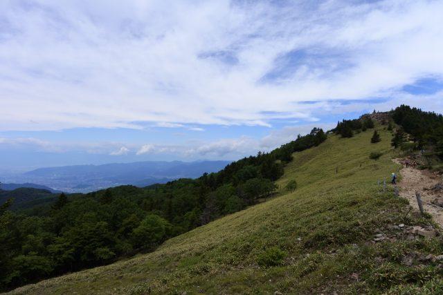 大菩薩嶺 日本百名山 稜線 尾根