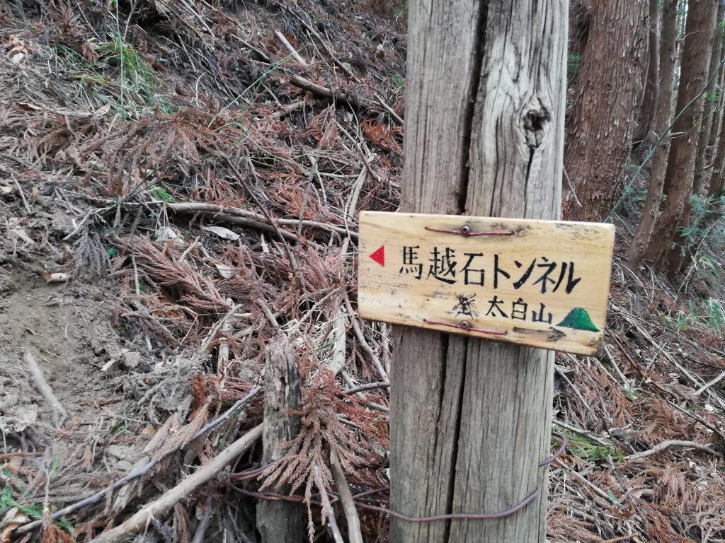 太白山 登山道
