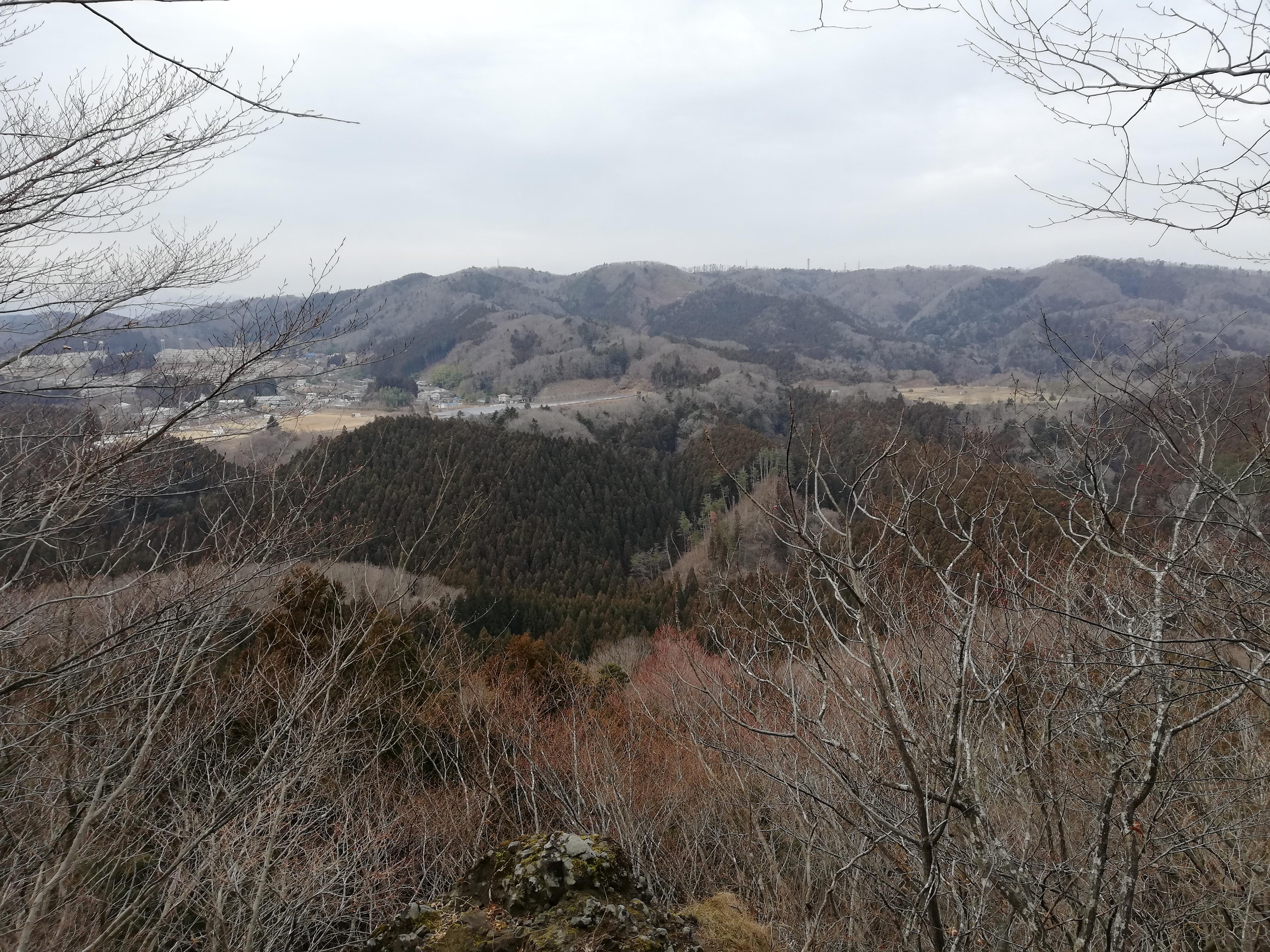 【西風蕃山~太白山】もう山なんて…西風蕃山→萱ヶ崎山→太白山、道迷い縦走