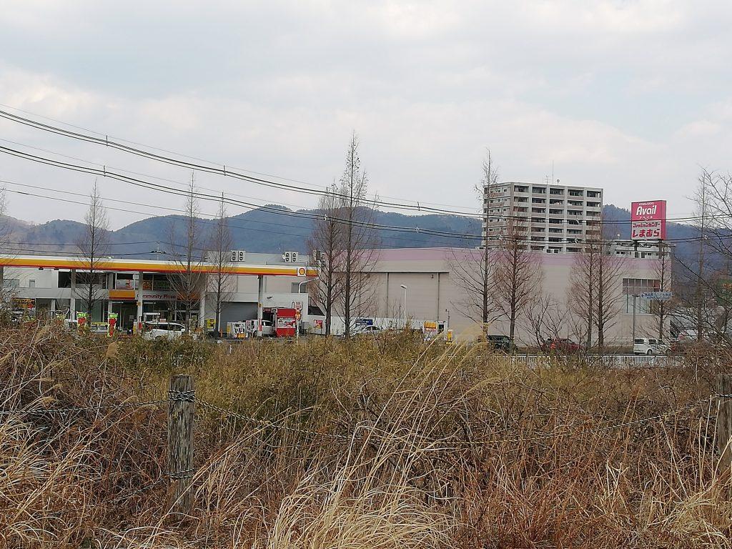 蕃山 山岸 登山口 駐車場