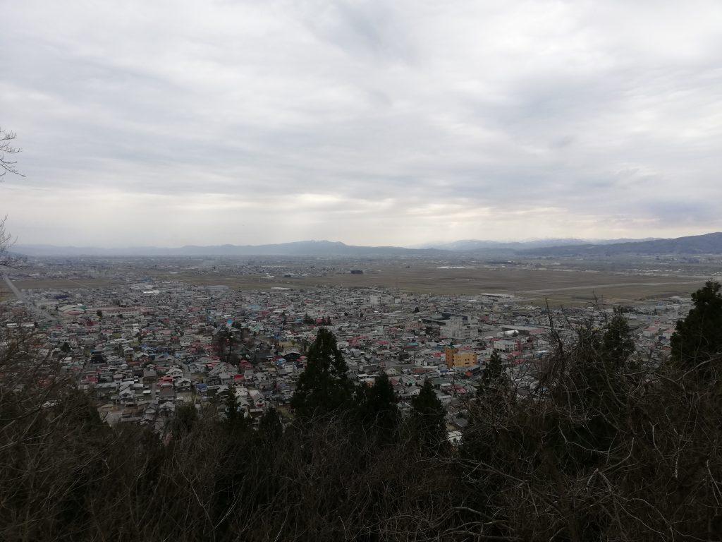 楯山 山形百名山 山頂