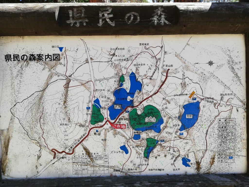 東黒森山 山形百名山 県民の森 登山コース