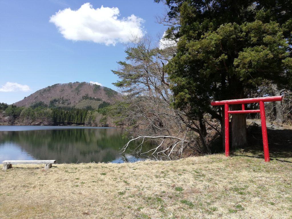 山形百名山 東黒森山 大沼神社