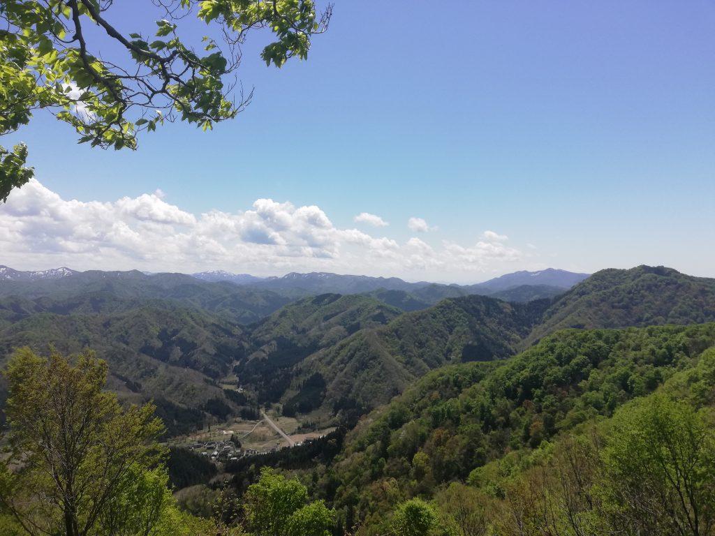 日本国 山形百名山 蛇逃峠