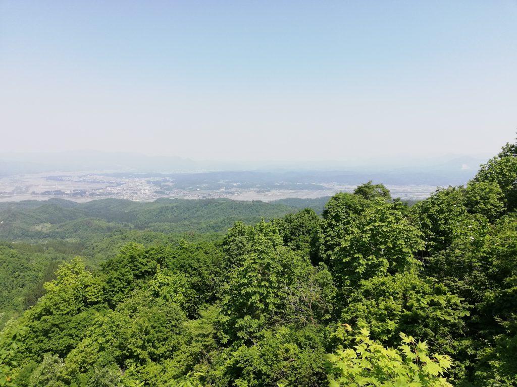 山つつじの丘見晴所
